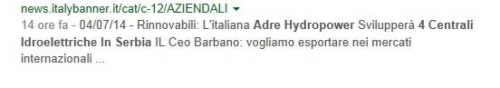 NEWS ITALY