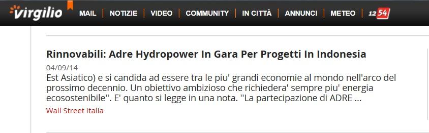 VIRGILIO NEWS